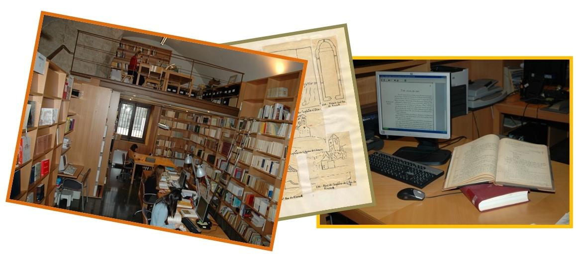 Arxiu IEC. Sala de consulta i documents.